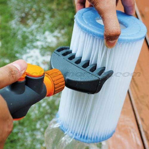 Peigne de nettoyage pour cartouches filtrantes piscine for Nettoyage filtre piscine