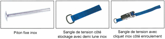 Couverture barres 4 saisons 580 g m blue reva piscines for Calcul chauffage piscine xls