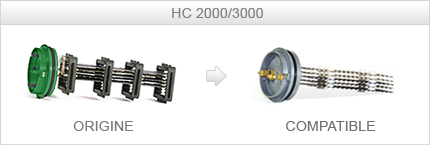 Cellule HC300 / NSC310 compatible STERILOR 2000/3000