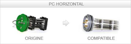 Cellule HC150 / PC150 compatible STERILOR Horizontale