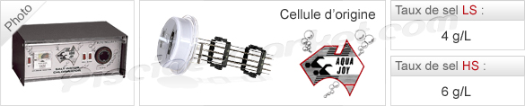 Cellules d'orgine pour électrolyseurs de sel Aquajoy® LS / HS