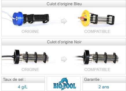 Cellules compatibles électrolyseur Paramount