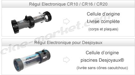 Cellules d'origine pour électrolyseur Régul Electonique®