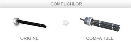 Cellule compatible Compuchlor LUXE A150
