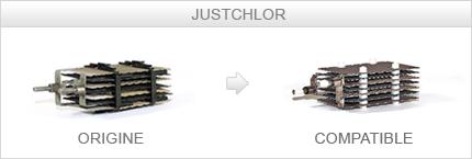 Cellule compatible Justchlor J100STD