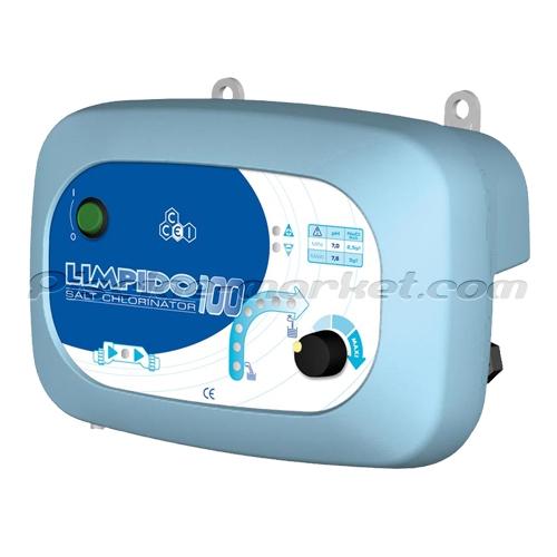 Electrolyseur ccei limpido 100 piscine market for Chauffage piscine 100m3