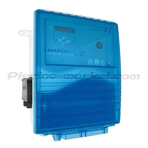 Electrolyseur limpido xc lab 100 r gulation du ph for Electrolyseur piscine