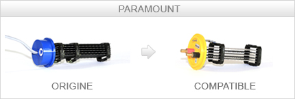 Cellule compatible Paramount 3G 200x60 culot bleu