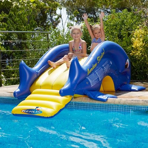 toboggan gonflable piscine market. Black Bedroom Furniture Sets. Home Design Ideas