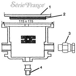 Pièces Détachées Boîtier de Connexion SERIE FRANCE