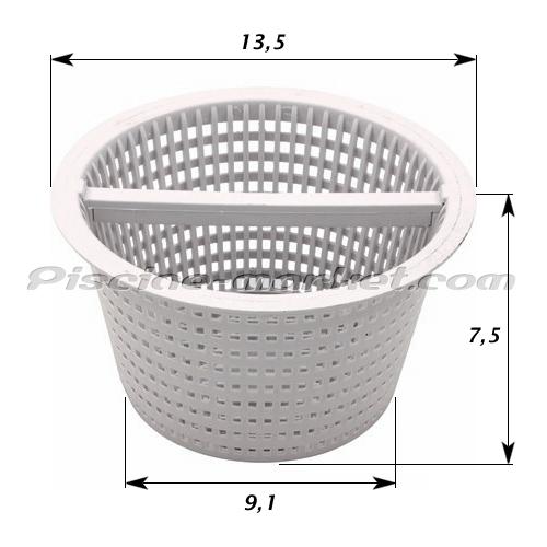 Panier anse skimmer hayward sp1094 piscine market for Panier piscine filtre
