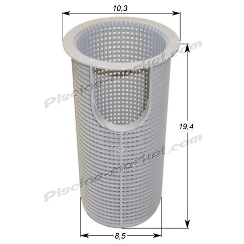 Panier de pr filtre max flo piscine market for Panier piscine filtre