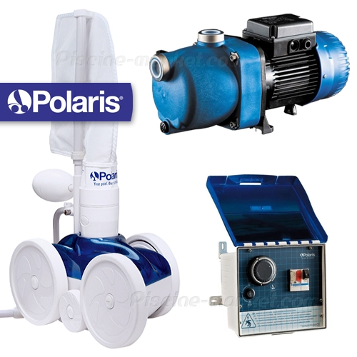 Pack polaris 280 surpresseur coffret piscine market for Aspirateur piscine polaris 280